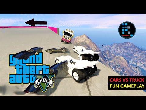 GTA V | HUNTING PACK CARS VS TRUCK FUN GAMEPLAY