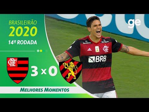 FLAMENGO 3 X 0 SPORT   MELHORES MOMENTOS   14ª RODADA BRASILEIRÃO 2020   ge.globo