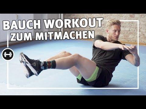 Bauchmuskeltraining für zuhause   8 Minuten   Fitness & Kraftsport   Sport-Thieme