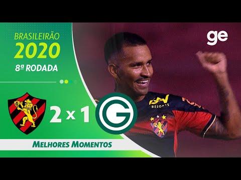 SPORT 2 X 1 GOIÁS | MELHORES MOMENTOS | 8ª RODADA BRASILEIRÃO 2020 | ge.globo
