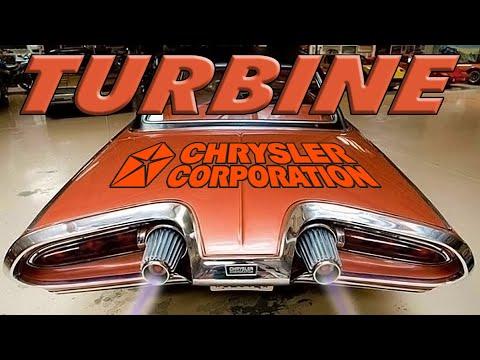 Газотурбинные Автомобили Крайслер | История 1963 - 1964 Chrysler Turbine Car