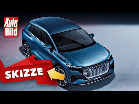 Audi Q4 e-tron (2022): Skizze - SUV - Elektro - Info