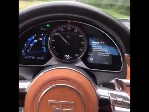 Brutal aceleração Bugati Chiron 8.0 W16! 0 a 100 km/h?