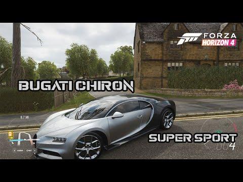 MOBIL PALING CEPAT !! BUGATI CHIRON - FORZA HORIZON 4