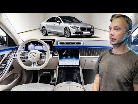 Царь Мерседес: новый S Класс 2020! Космолет за 10 млн руб! #ДорогоБогато №117 Mercedes S-Class W223