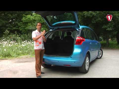 Обзор б/у автомобиля Citroen Picasso c 2006 г.в.
