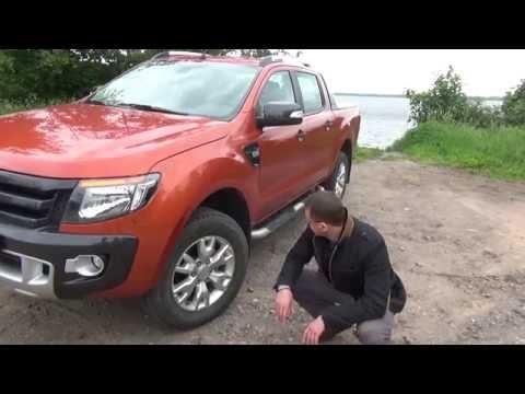 """Форд Рейнджер 2013 (ford ranger) wildtrak: авто с """"ЯЙЦАМИ"""" - обзор и off road"""