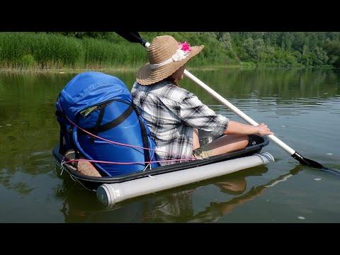 Посудина не подвела  Тачка мечты в большом путешествии по красивой сибирской реке
