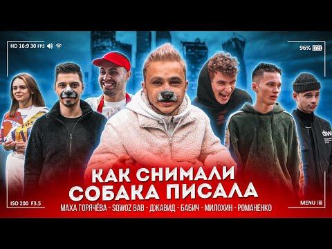 Милохин, Бабич, Джавид, Sqwozbab / Как снимали СОБАКА ПИСАЛА / Rozalia, Джарахов Backstage