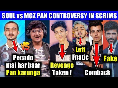 Soul vs MGZ controversy explained, Scout left fnatic, Gaming pro ocean, Ronak, Regaltos, PubgM India