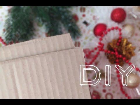 ПРОСТОЙ Рождественский венок своими руками / Как сделать Новогодний венок из мишуры