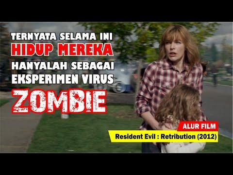 KOTA BUATAN TEMPAT BEREKSPERIMEN VIRUS ZOMBIE | Alur Cerita Film Resident Evil Retribution (2012)