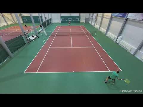 Бирюков Олег - Пучков Александр финал теннис Липецк 29.11.2020 2 сет