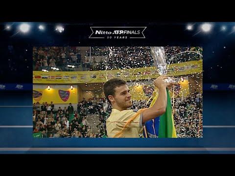 NITTO ATP FINALS | Kuerten Makes History For Brazil