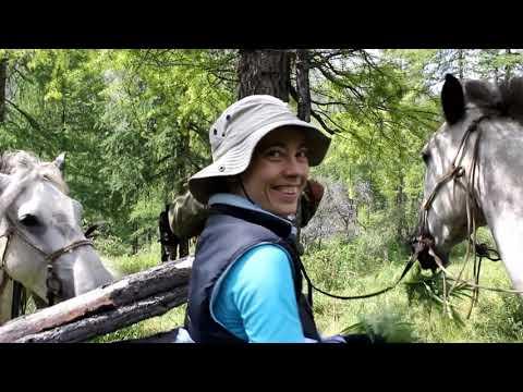 Путешествие в Долину вулканов , конный поход Восточный Саян