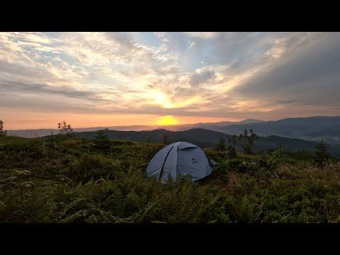 VLOG‣ Первый поход в горы с ночевкой в палатке. Как я начал путешествовать.