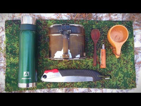 Поход выходного дня. Однодневка. Полевая кухня: Рагу в армейском котелке.