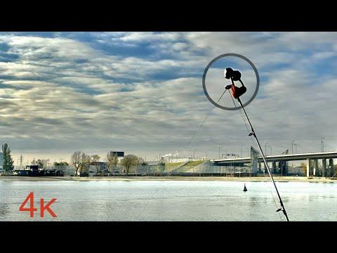 Зимняя рыбалка на открытой воде с набережной Ростова-на-Дону! Рыбец в декабре!