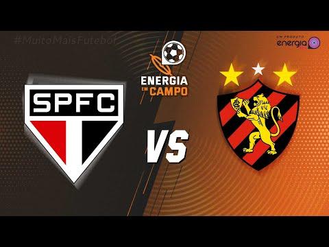SÃO PAULO X SPORT - AO VIVO - 06/12/2020 - BRASILEIRÃO