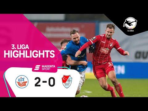 FC Hansa Rostock - Türkgücü München | 9. Spieltag, 2020/2021 | MAGENTA SPORT