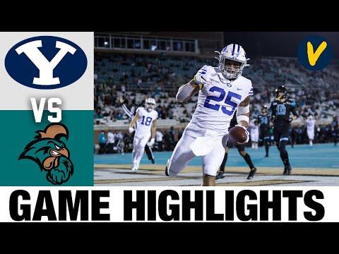 #13 BYU vs #18 Coastal Carolina Highlights   Week 14 2020 College Football Highlights