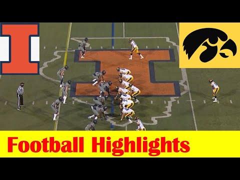 Iowa vs Illinois Football Game Highlights 12 5 2020