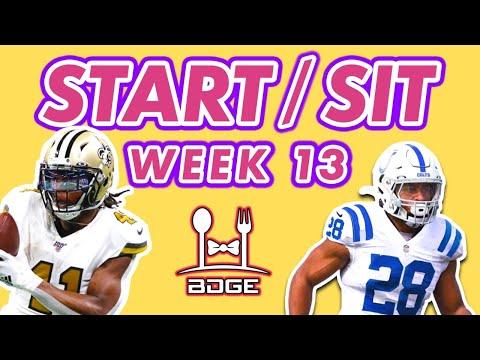 Fantasy Football Week 13 - Start/Sit Q&A