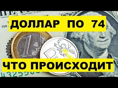 курс доллара на сегодня. доллар 74. анализ рынка. тинькофф инвестиции 2020