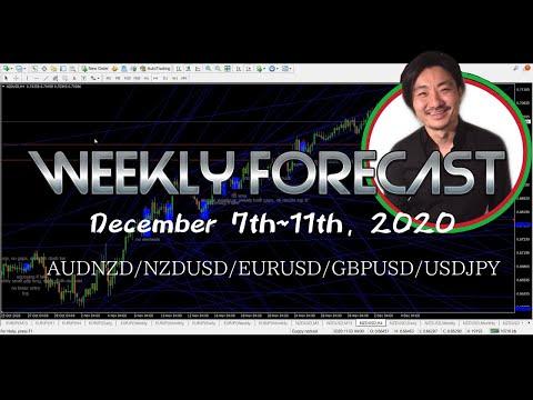 Weekly Forex Forecast December 7th~11th, 2020 | Audnzd Nzdusd Eurusd Gbpusd Usdjpy