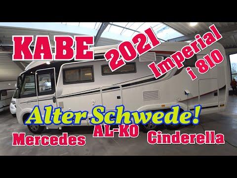 KABE TM Imperial i810 LQB Mercedes Benz Sprinter 2021 Vollintegriertes Wohnmobil AL-KO Chassis 5.5 T