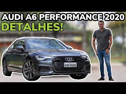 AUDI A6 2020 PERFORMANCE EM DETALHES - Falando de Carro