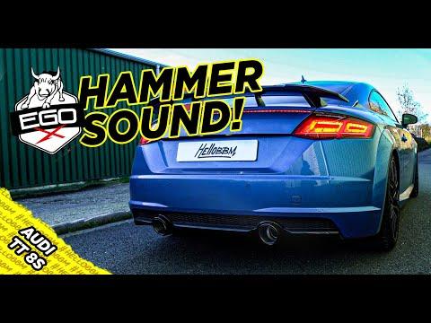 So sollte ein Audi TT 8S klingen! | EGO X Auspuff by HG Motorsport | by BBM Motorsport