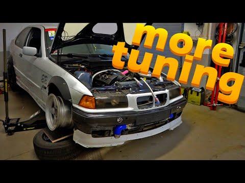BMW e36 Turbo Lenkwinkelkit   Ölkühler