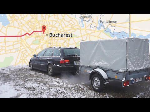 Am plecat la București după.. noi achiziții (Retrofit BMW E39 Touring)