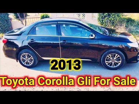 Toyota Corolla Gli || 2013 Model Gli For Sale in Pakistan ||Detail || Review Price ||Walk Around