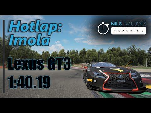 Lexus GT3 Hotlap @ Imola (1:40.19) - Assetto Corsa Competizione