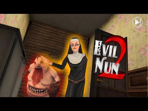 ВЫШЛА Новая Игра МОНАХИНЯ 2! Делаю ОБЗОР Evil Nun 2 Update