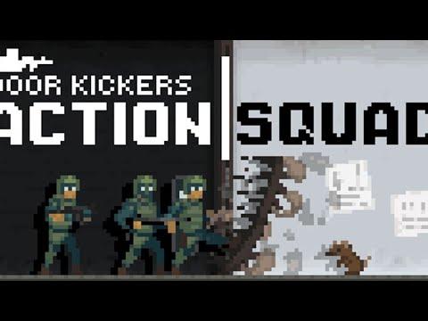 Door Kickers Action Squad - Обзор. Контра в 2D. Крутая игра при 80 мб памяти