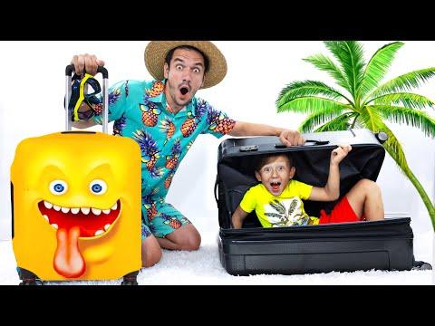 Сеня и родители собираются в отпуск