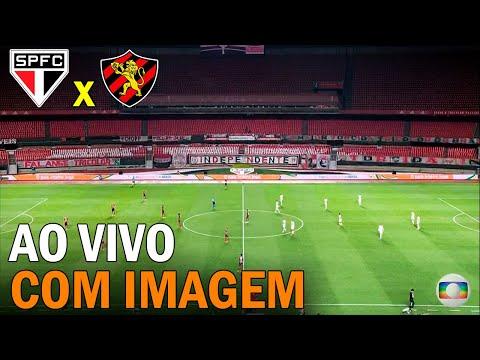 São Paulo x Sport ao vivo com imagem | Brasileirão - 24ª Rodada