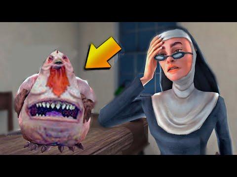 Монахиня 2! Шок контент! Смешное прохождение Evil Nun 2!
