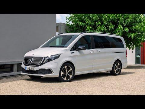 Mercedes Benz EQV 2020 - 2021 Review, Photos, Exhibition, Exterior and Interior