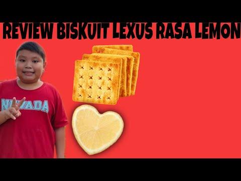 Asam! Review Biskuit Lexus rasa Lemon