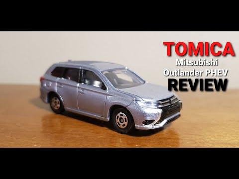 TOMICA Mitsubishi Outlander PHEV review!