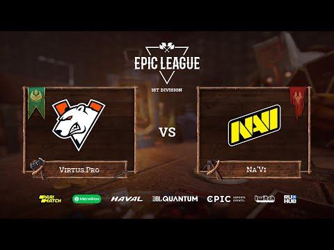 Virtus.Pro vs Na'Vi, EPIC League Season 2, bo3, game 2 [Jam & Maelstorm]