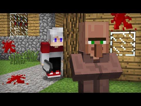 Я СТАЛ МАНЬЯКОМ И УСТРОИЛ ОХОТУ НА ЖИТЕЛЕЙ В МАЙНКРАФТ 100% Троллинг Ловушка Minecraft