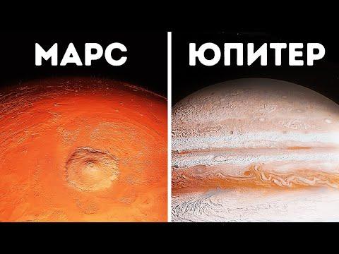 3D-путешествие по всем планетам Солнечной системы