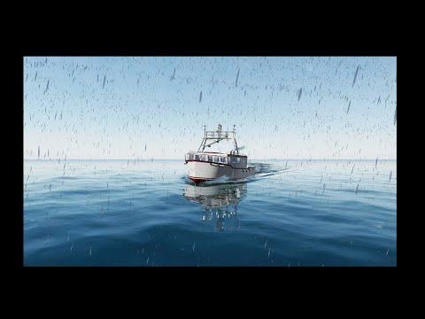 Fishing North Atlantic  ЛОВЛЯ РЫБЫ  СНААСТЯМИ  В АТЛАНТИКИ 1