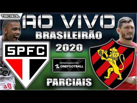 São Paulo 1x0 Sport   Brasileirão 2020   Parciais Cartola FC   24ª Rodada   Narração