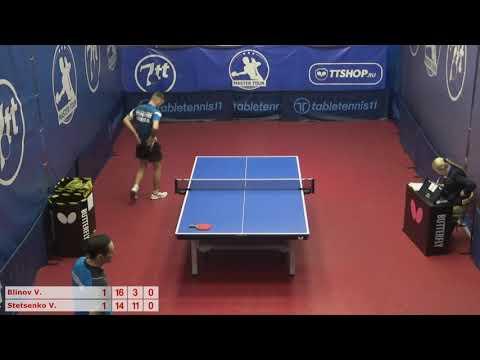 Настольный теннис матч 071220 7  18:00  Блинов Виталий  Стеценко Владимир